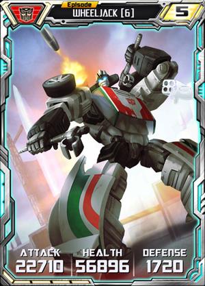 Wheeljack 6 Robot