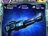 Breakdown (2) Weapon