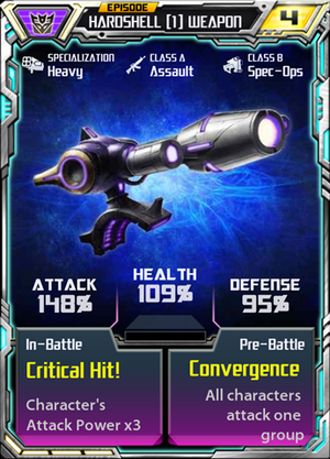 Hardshell 1 Weapon