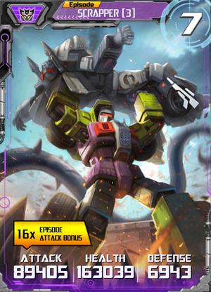 Scrapper 3 Robot