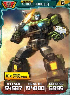 Autobot Hound 6 Robot