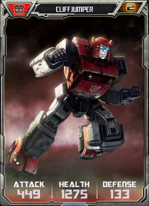 (Autobots) Cliffjumper - Robot (2)