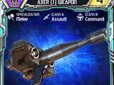 Axer (1) Weapon