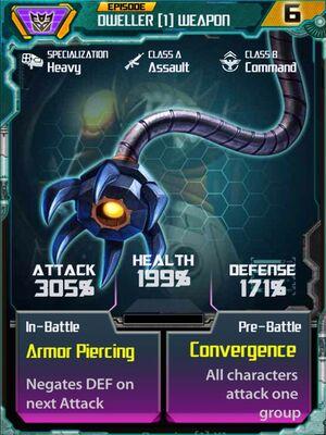 Dweller 1 Weapon