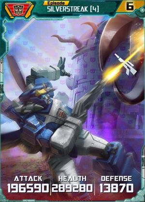 Silverstreak 4 Robot