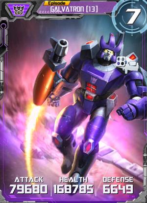 Galvatron 13 Robot