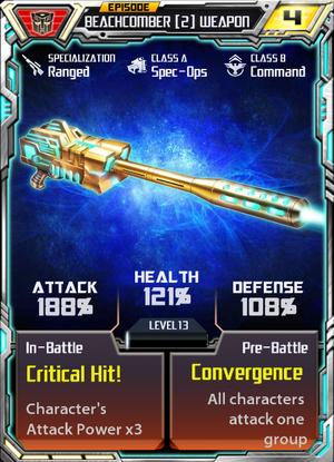 Beachcomber 2 Weapon