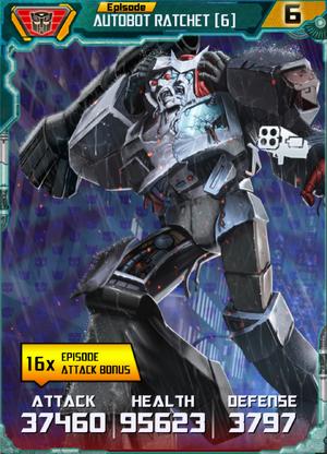 Autobot Ratchet 6 Robot