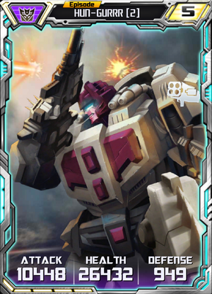 Hun-Gurrr 2 Robot