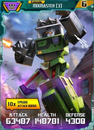 Mixmaster 3 Robot