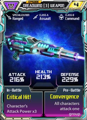 Dreadwind 3 Weapon