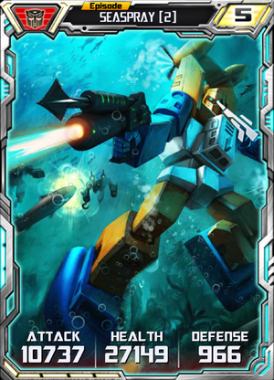 Seaspray 2 Robot