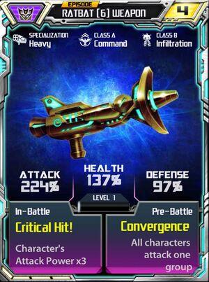 Ratbat 6 Weapon