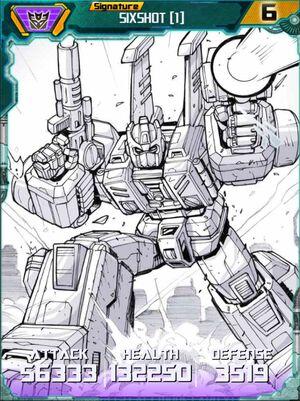 Sixshot 1 Robot