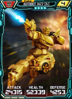 Autobot Jazz 6 E4