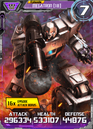 Megatron 18 Robot