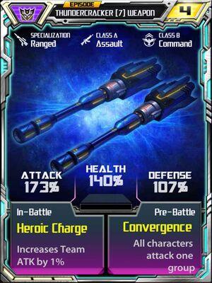 Thundercracker 7 Weapon