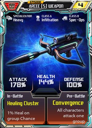 Arcee 5 Weapon