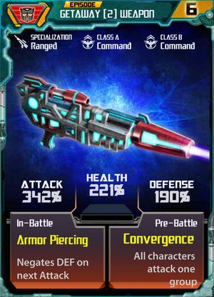 Getaway 2 Weapon