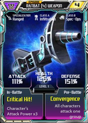 Ratbat 4 Weapon