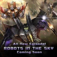 Robots in the Sky - Facebook - Event Announcement