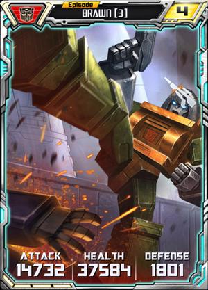 Brawn 3 Robot