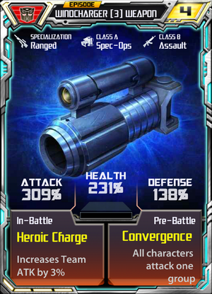 Windcharger 3 Weapon