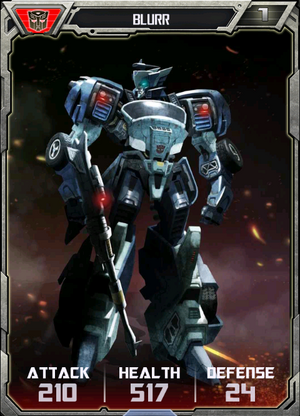 (Autobots) Blurr - Robot