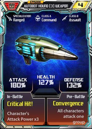 Autobot Hound 3 Weapon