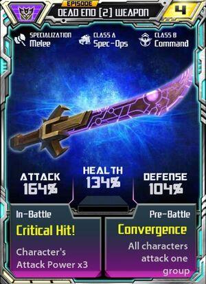 Dead End 2 Weapon