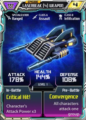 Laserbeak 4 Weapon