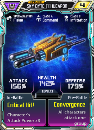 Sky Byte 1 Weapon