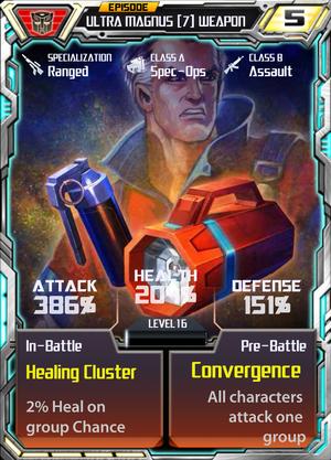 Ultra Magnus 7 Weapon