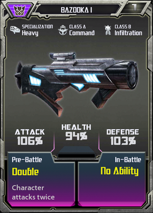 (Decepticons) Bazooka I