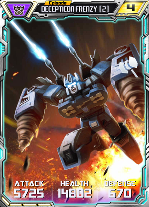 Decepticon Frenzy 2 Robot