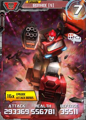 Ironhide 9 Robot