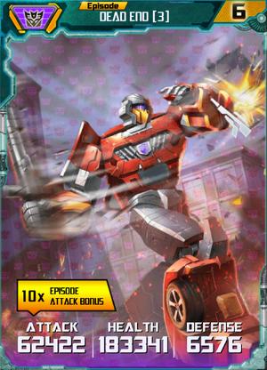Dead End 3 Robot