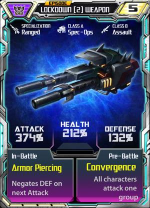 Lockdown 2 Weapon