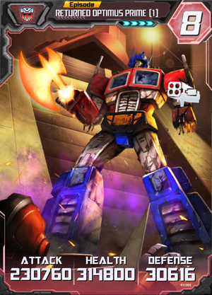 Returned Optimus Prime 1 E4