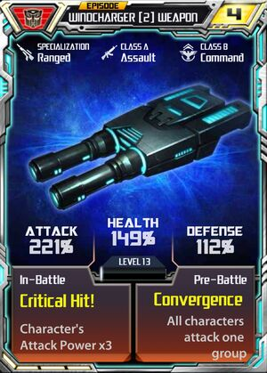 Windcharger 2 Weapon