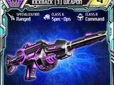Kickback (3) Weapon
