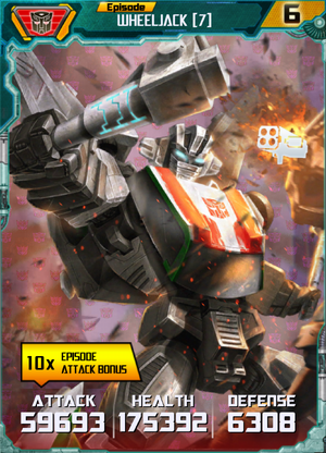 Wheeljack 7 Robot