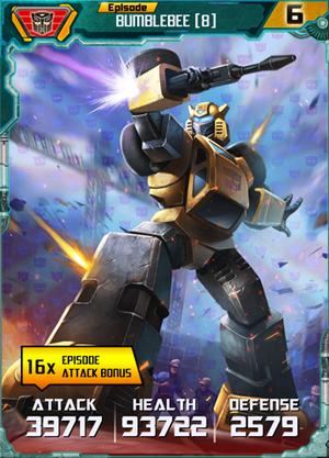 Bumblebee 8 Robot