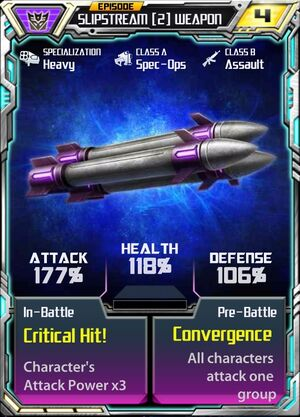 Slipstream (2) Weapon