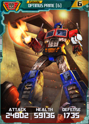 Optimus Prime 6 Robot