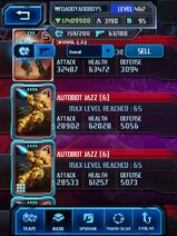 Screenshot by 24027803 - Autobot Jazz 6 - Different Max Stage 4 Stats - Base
