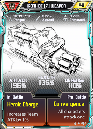 Ironhide 7 Weapon