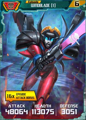 Windblade (1) Robot