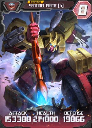 Sentinel Prime 4 Robot