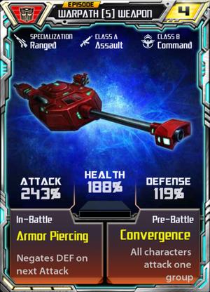 Warpath 5 Weapon